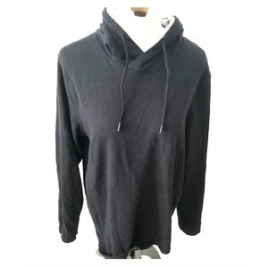Fabletics black pullover hoodie size large